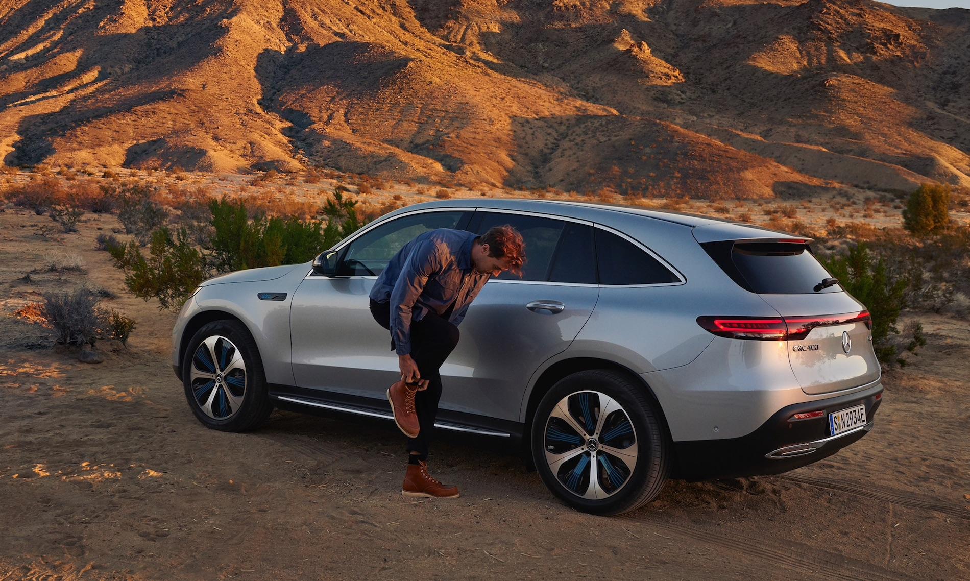 Mercedes Eqc Desert