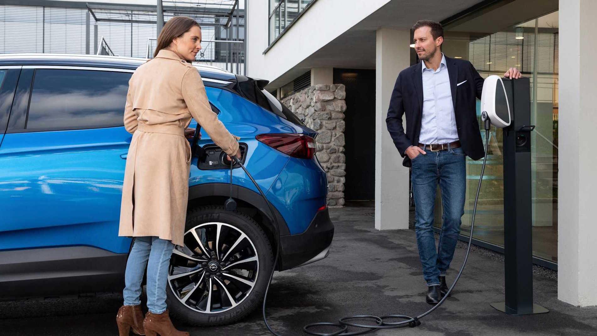 Opel Grandland X Charge
