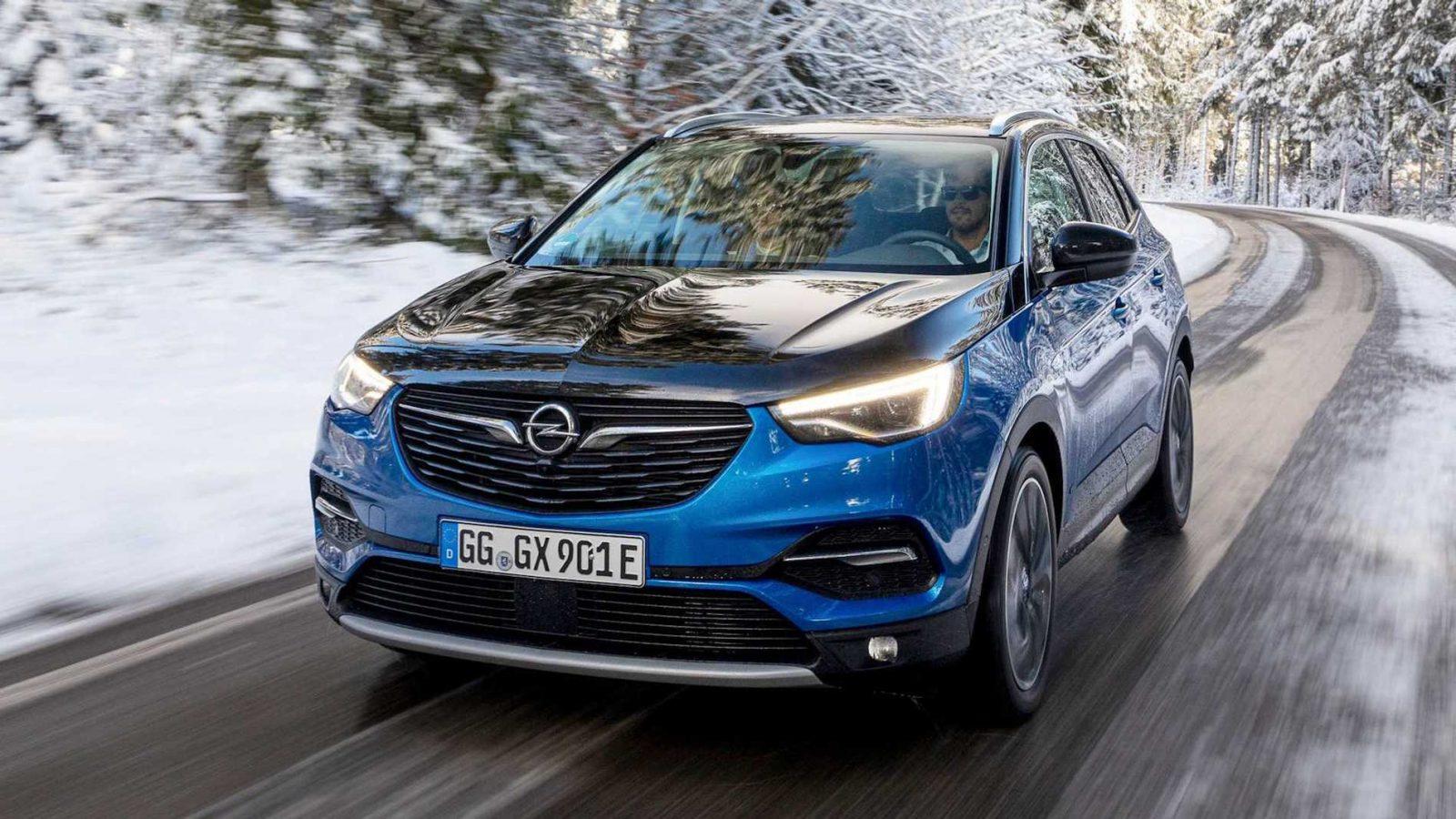 Opel Grandlandx Road