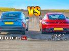 Tesla Model 3 VS Porsche Carrera S: ¿Quién ganará?