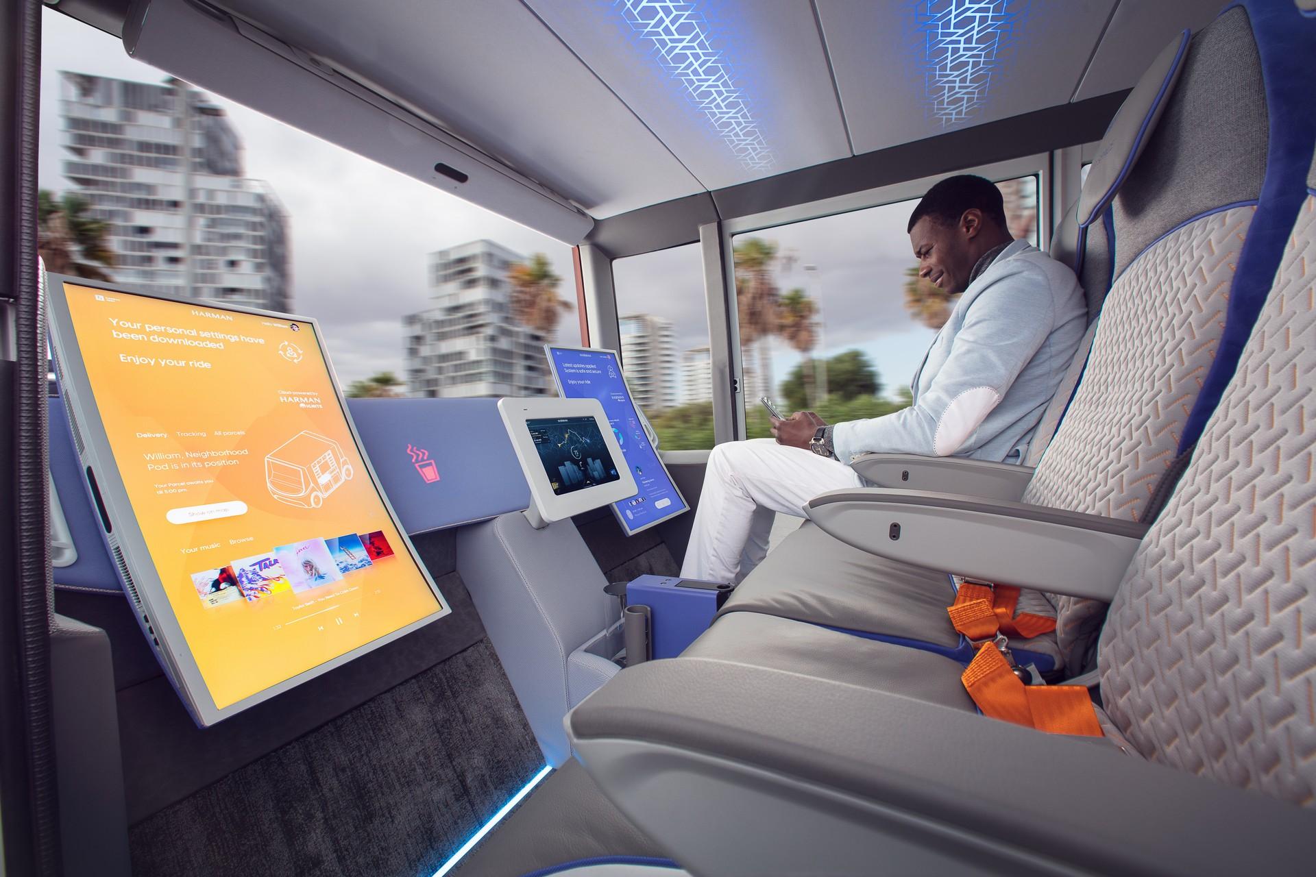 Rinspeed Metrosnap Autonomo Modular 11