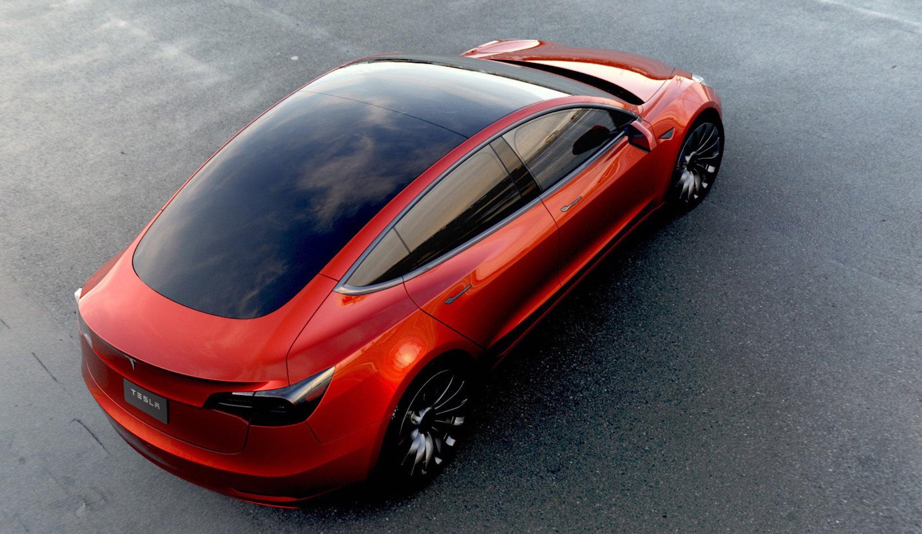 Tesla Model 3 Cristal