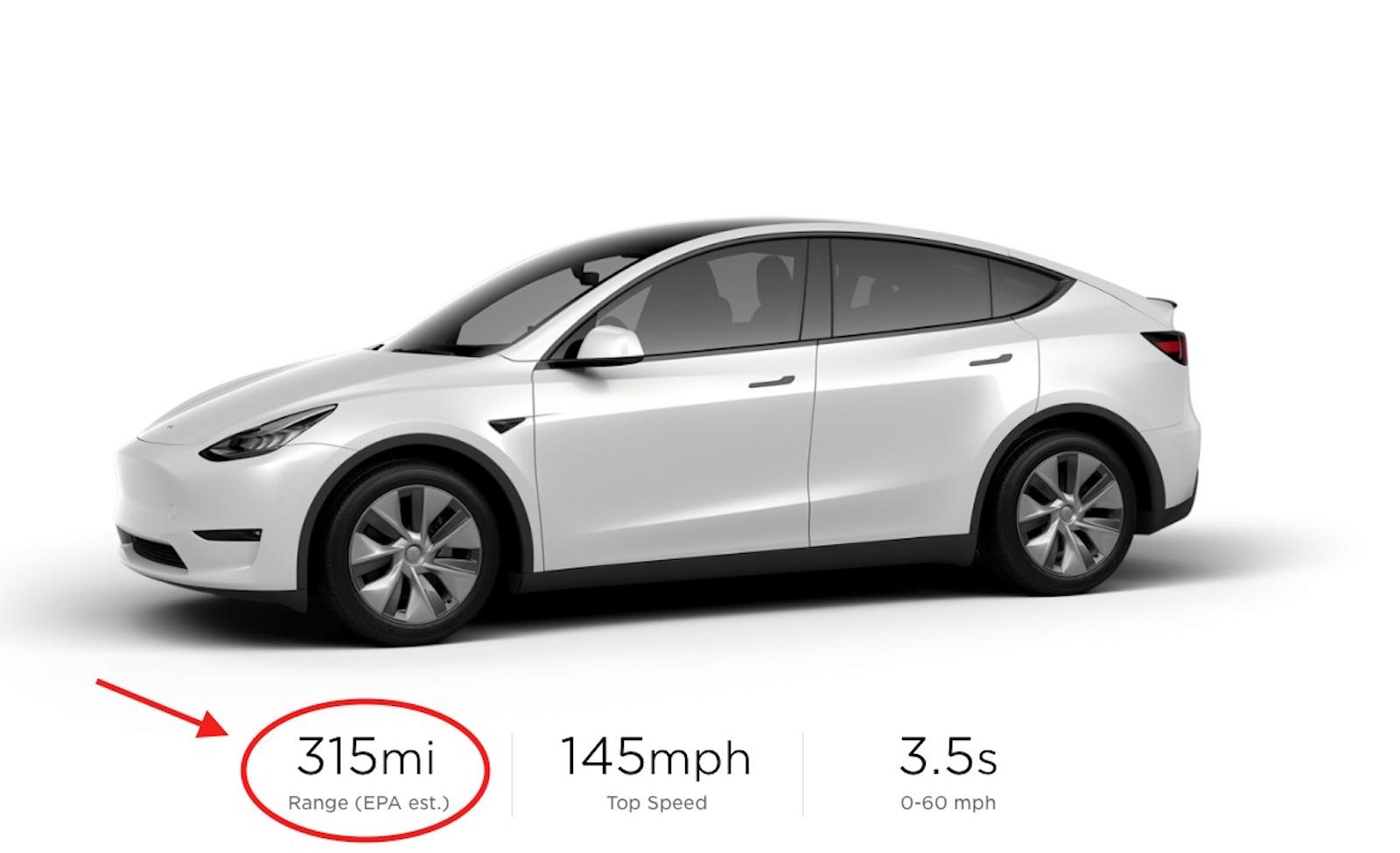 Tesla Model Y marzo