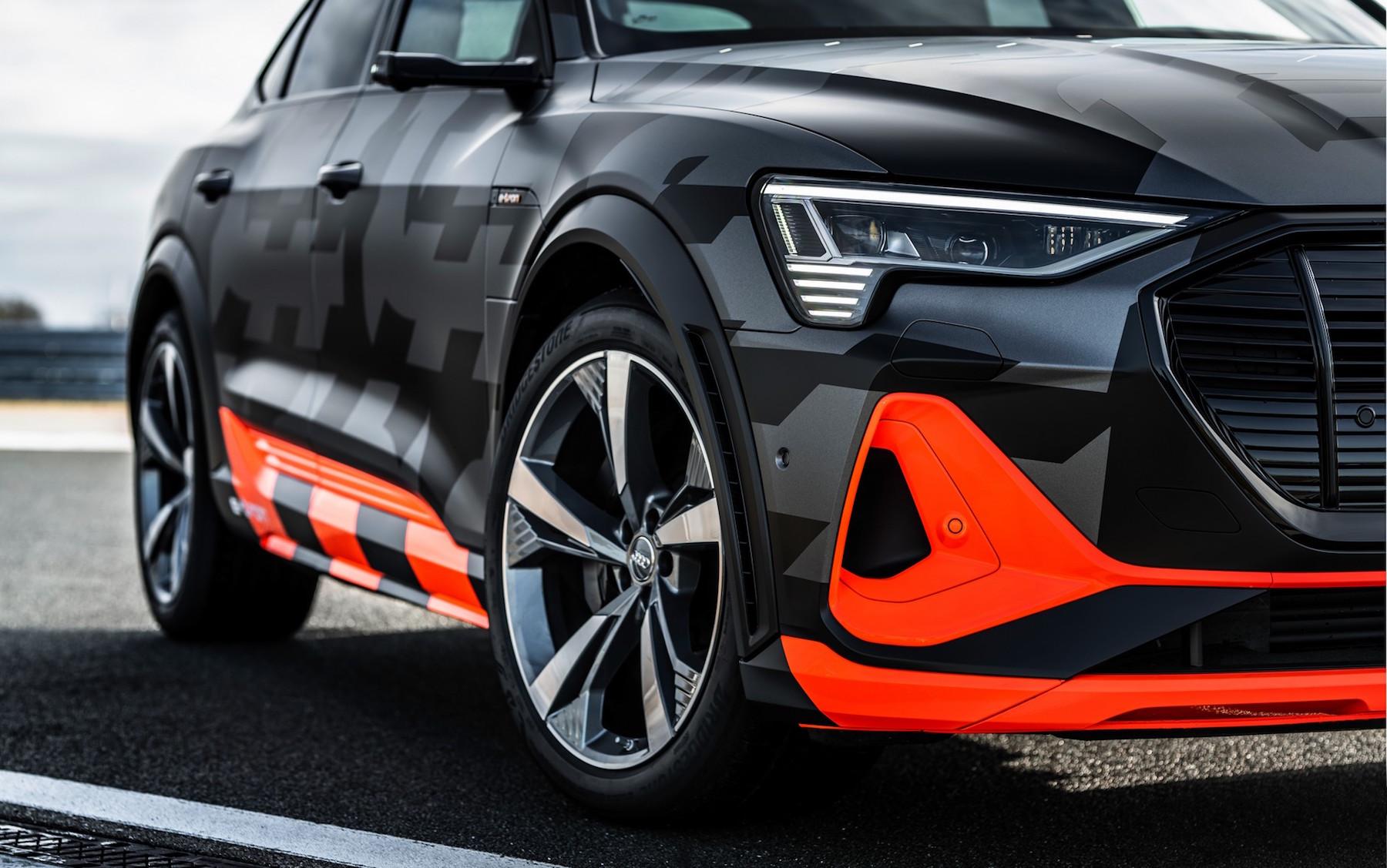 Audi E Tron S Front