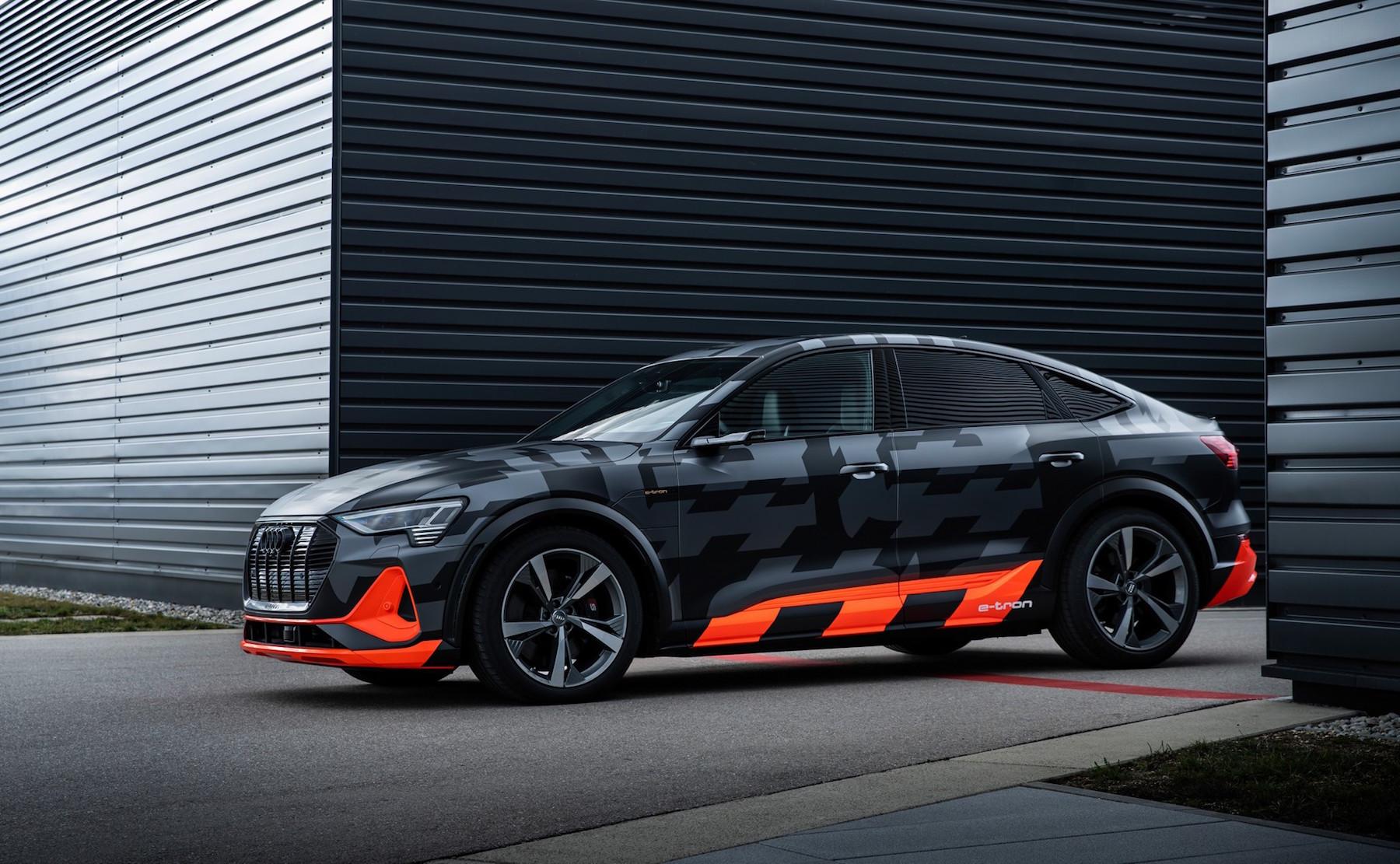 Audi e-tron versión S