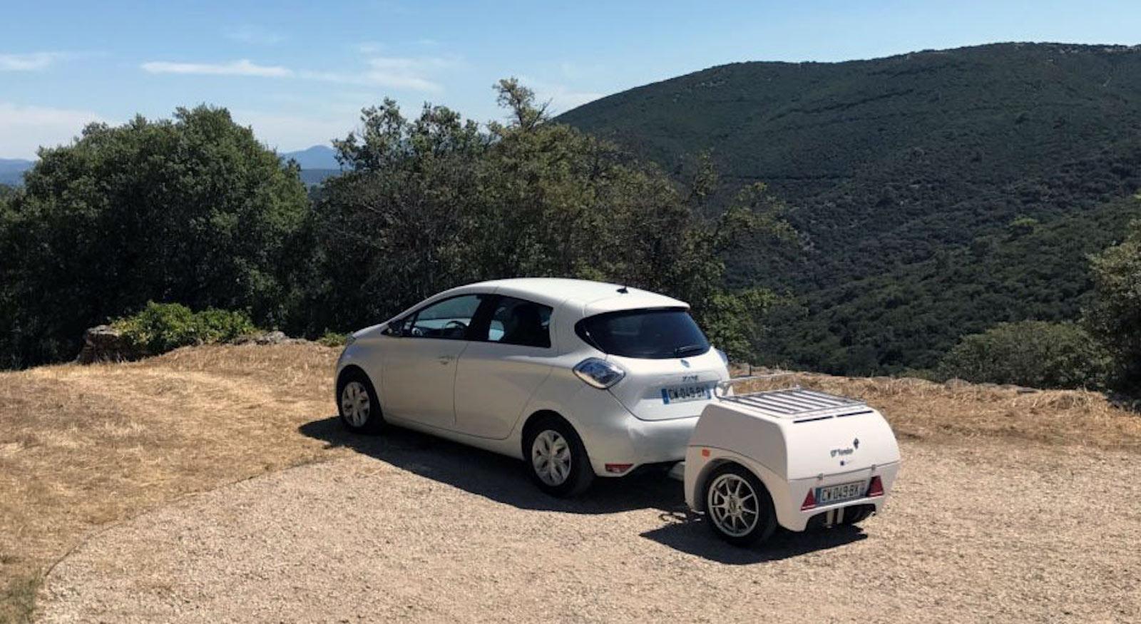 batería portátil coche eléctrico