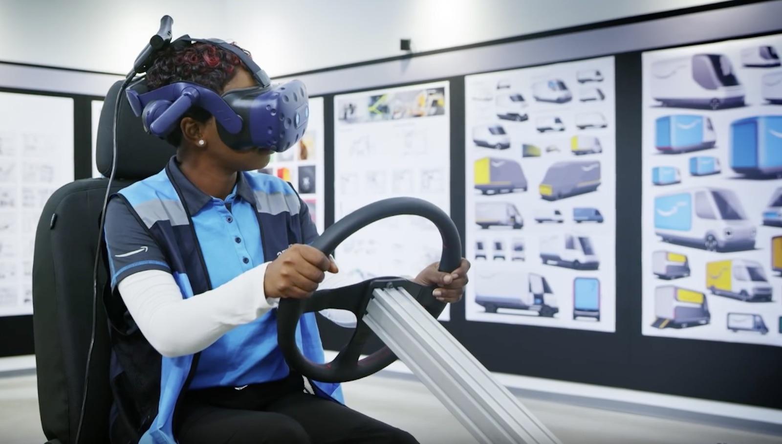 Rivian Amazon Virtual Reality