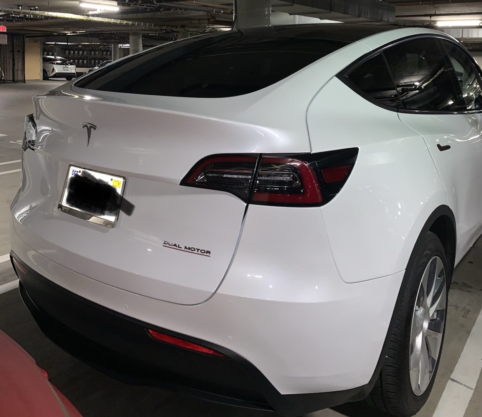 Tesla Model Y Back Los Angeles