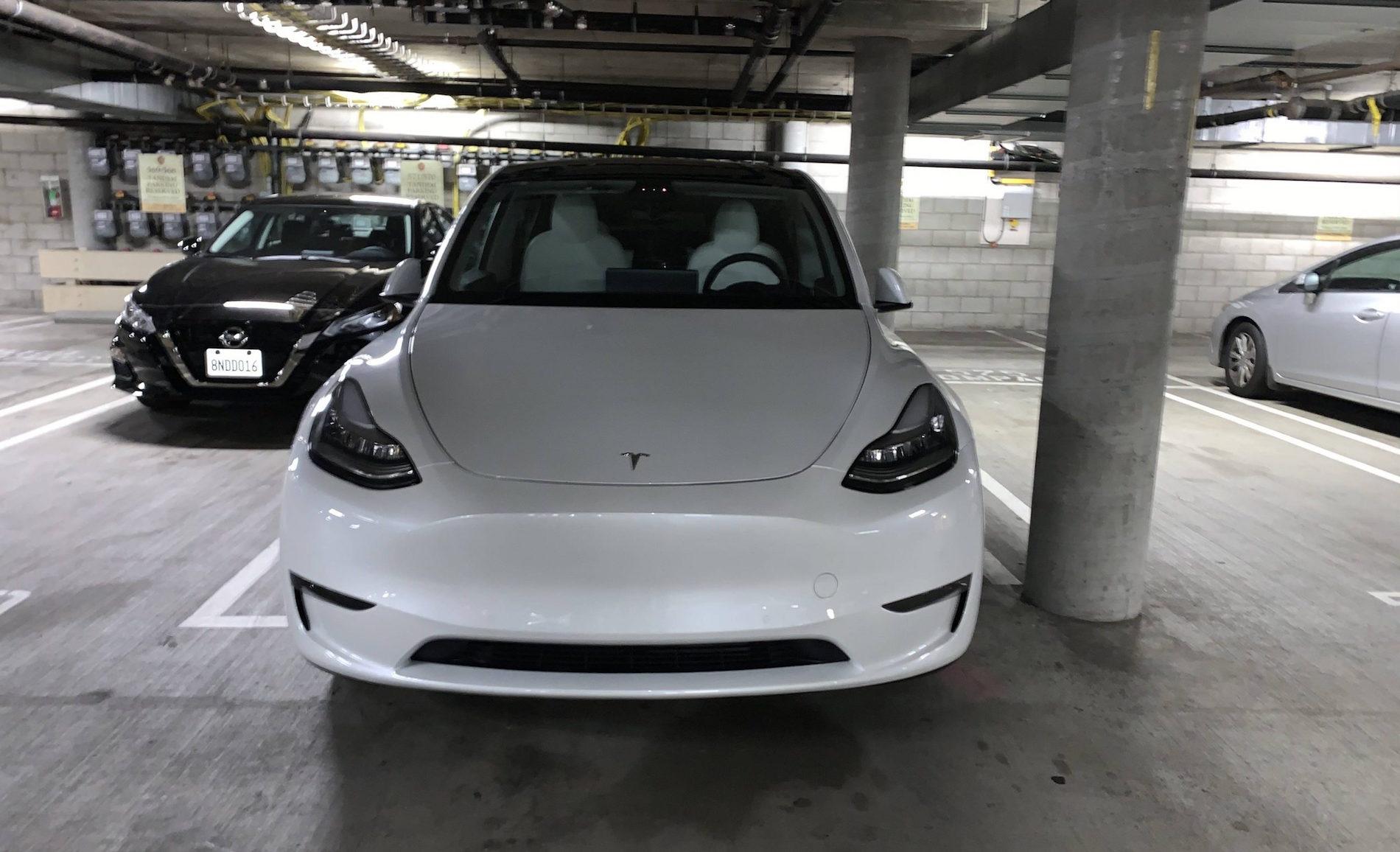 Tesla Model Y Front Los Angeles