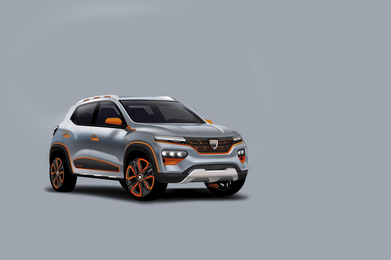 Dacia Spring Electric Concept 3