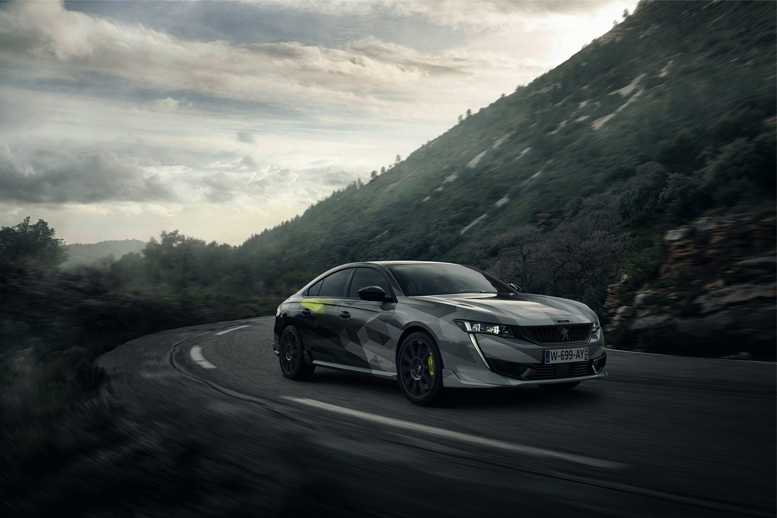 Peugeot 508 Sport Engineered Production Spec 10