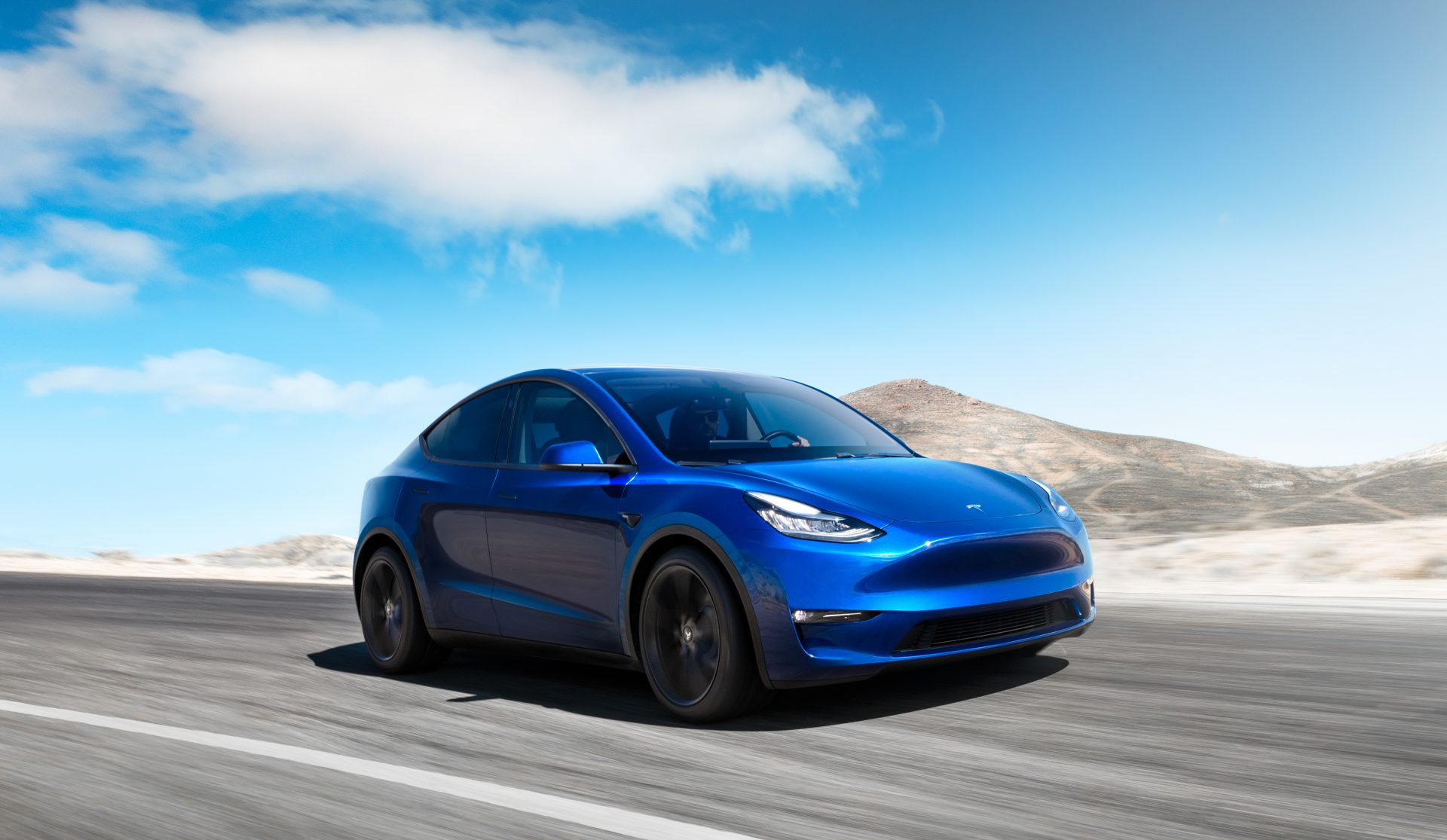 Tesla Model Y Close