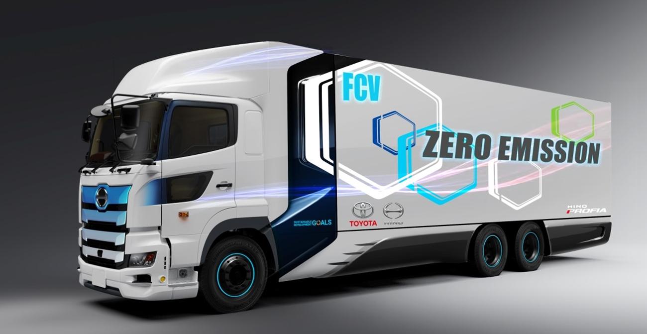 Toyota Camion Hidrogeno