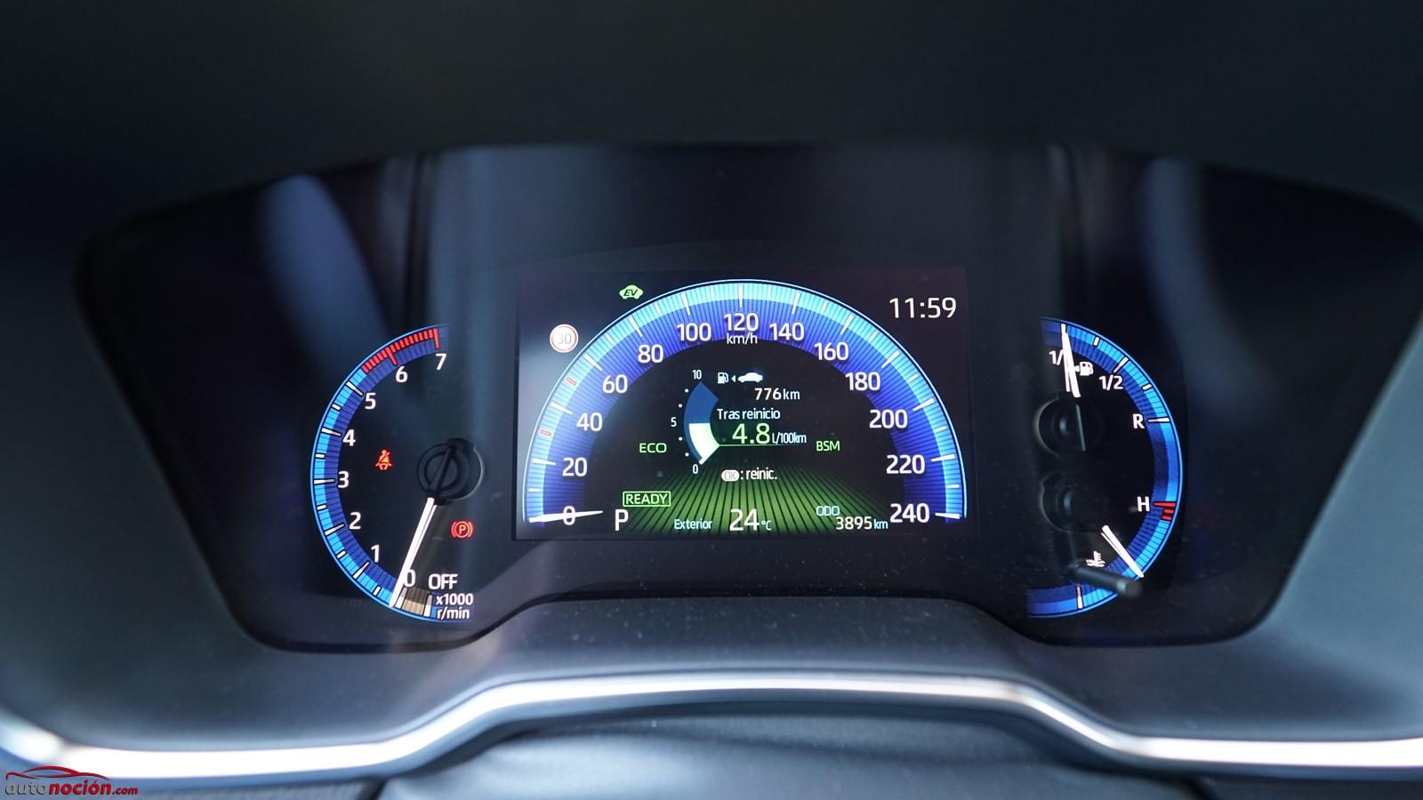 Prueba Toyota Corolla Sedan Instrumentacion Consumo