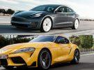 Un Tesla Model 3 Performance se enfrenta a un Toyota Supra: ¿Cuál es el más rápido?