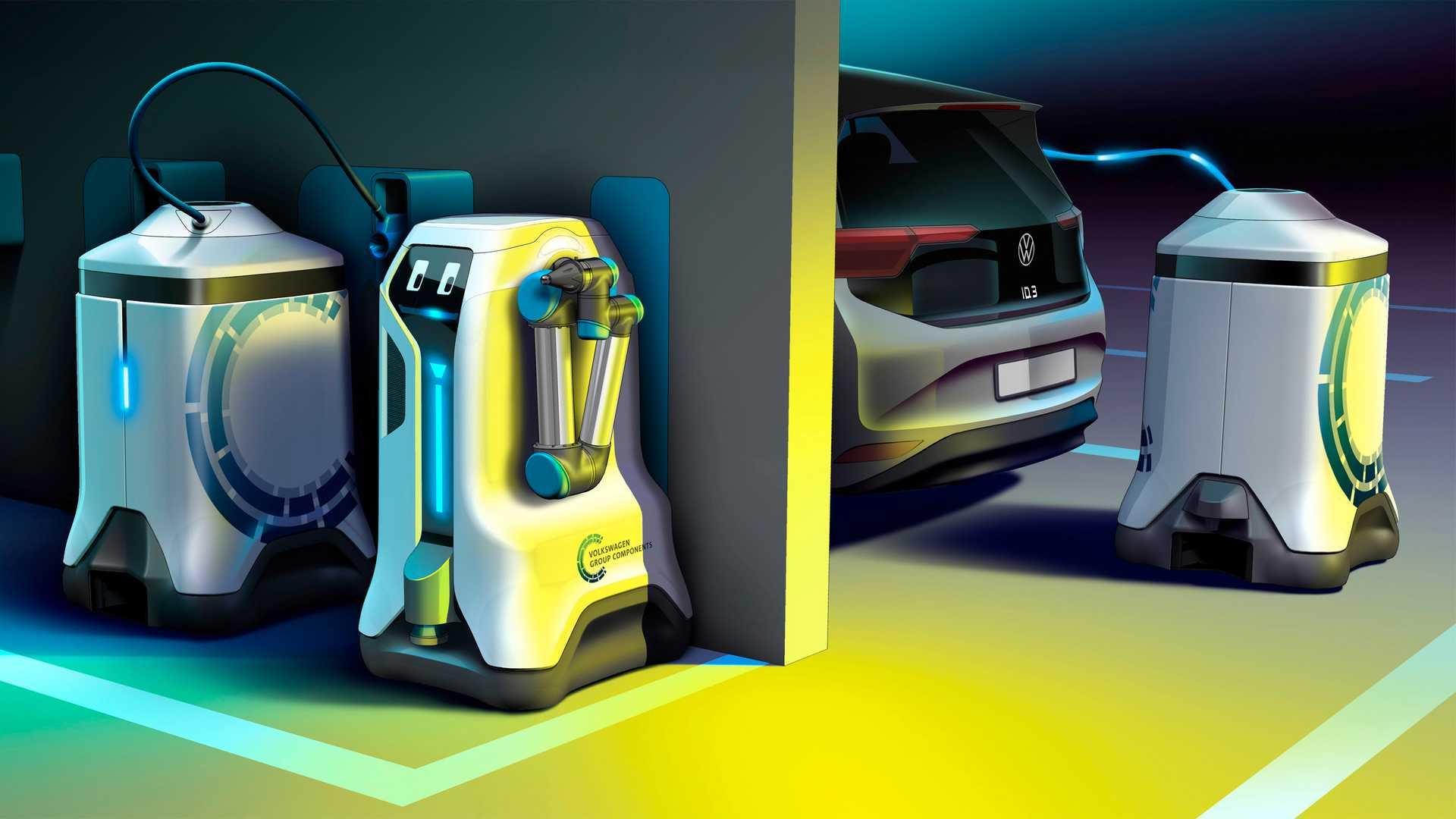 Vw Group Charging Robot