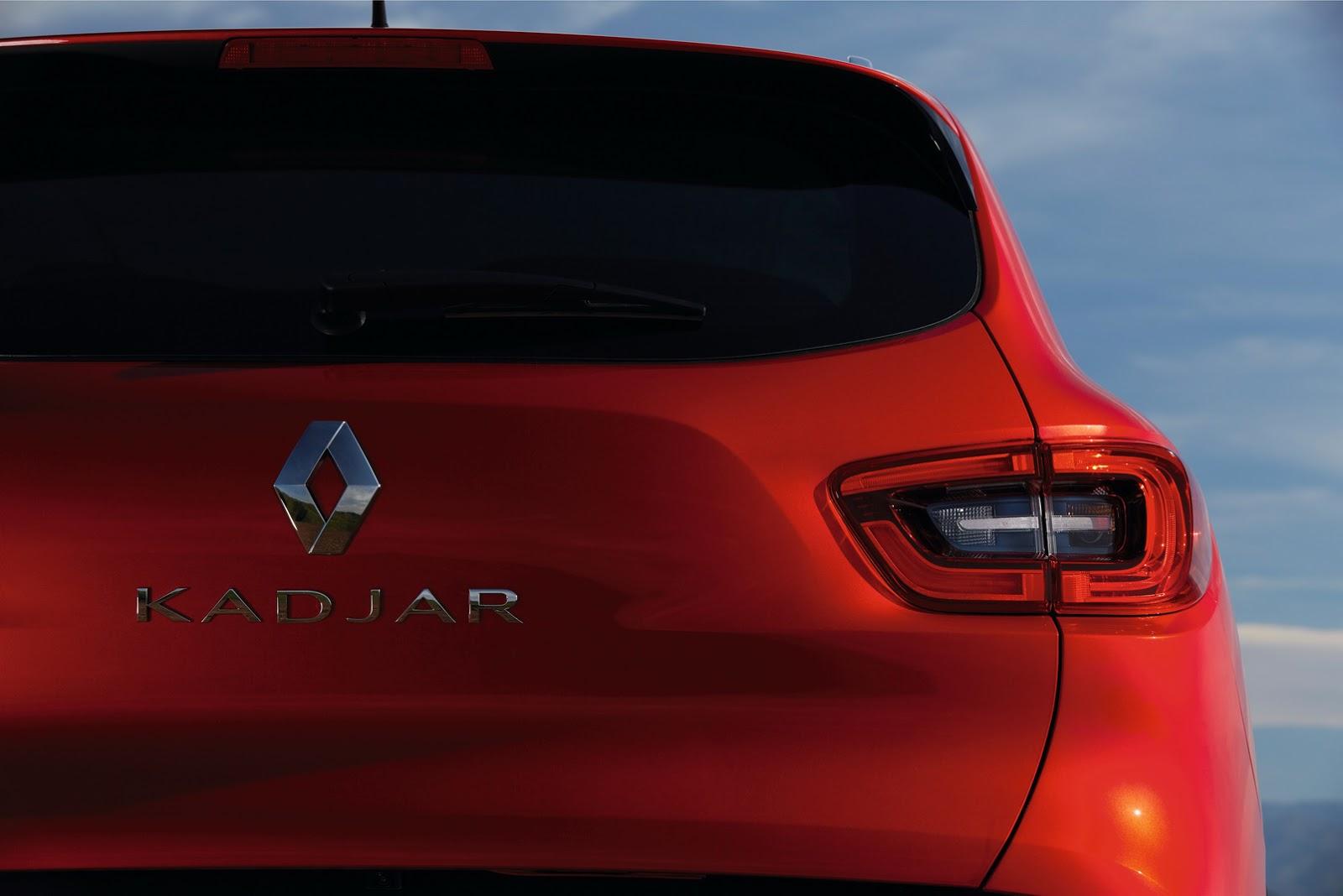Renault SUV Kadjar Back