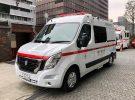 Tokio estrena su primera ambulancia Nissan NV400 Zero Emission