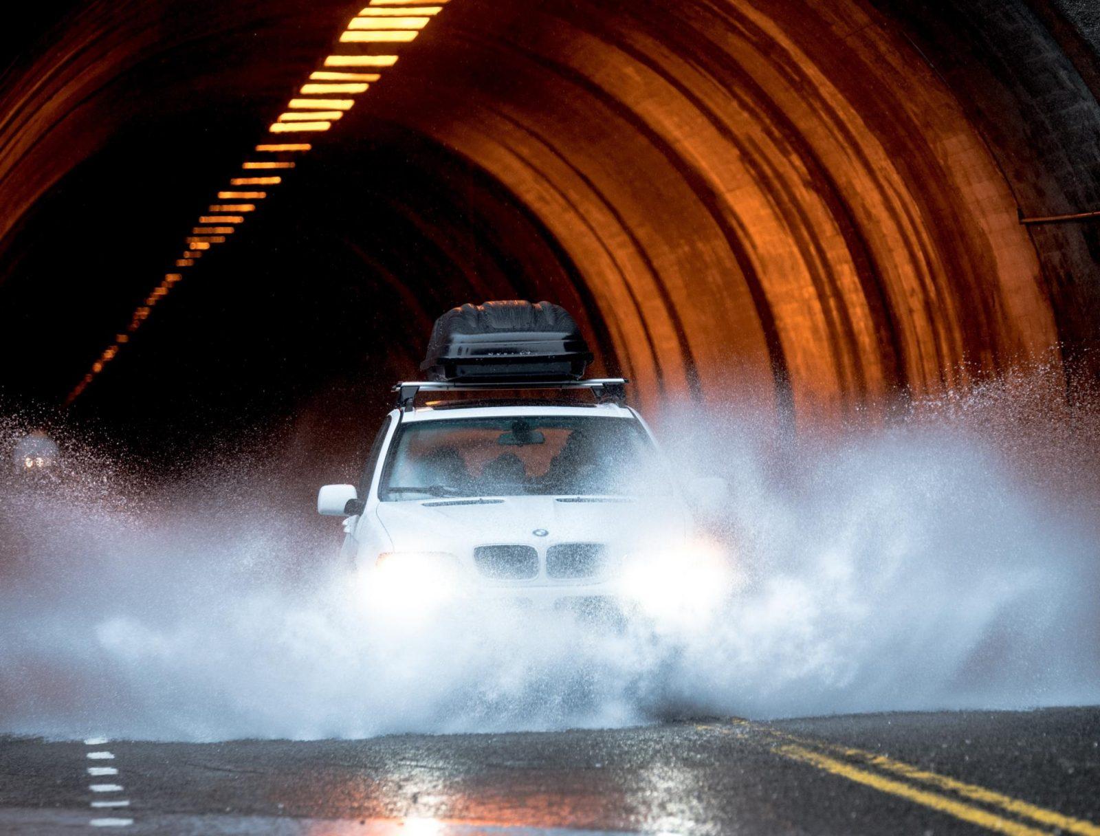 Otoño Lluvia Conducir (3)