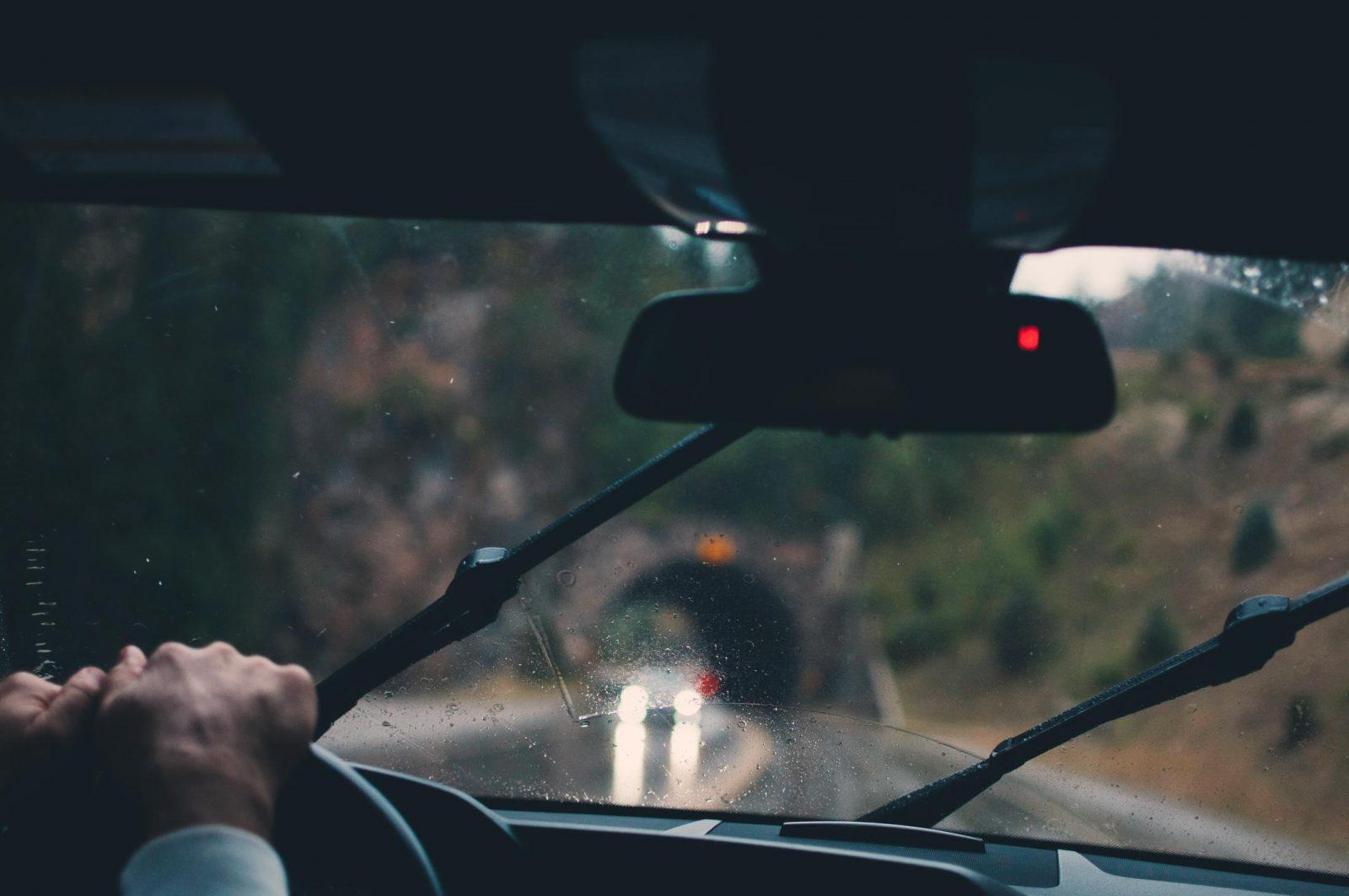 Otoño Lluvia Conducir (5)