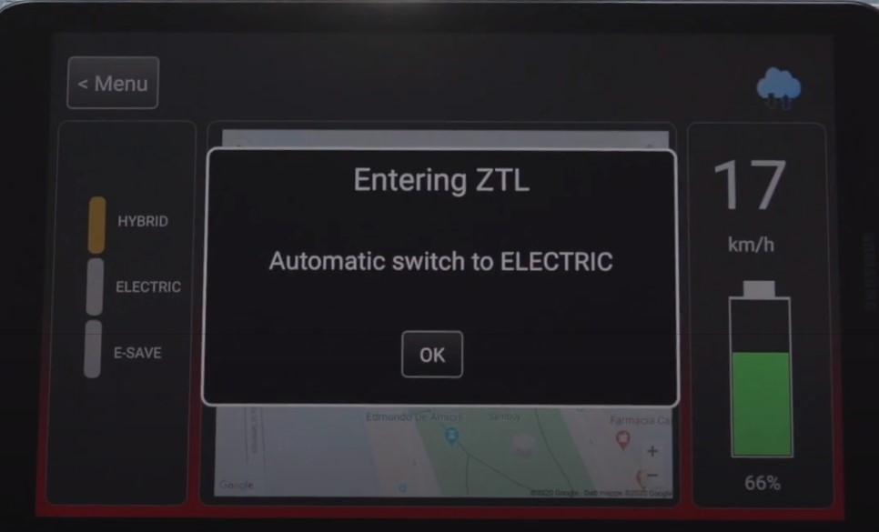 Fiat el modo eléctrico