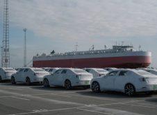 Polestar 2 Parked Harbour Ship