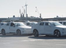 Polestar 2 Parked Harbour Ship Belgium
