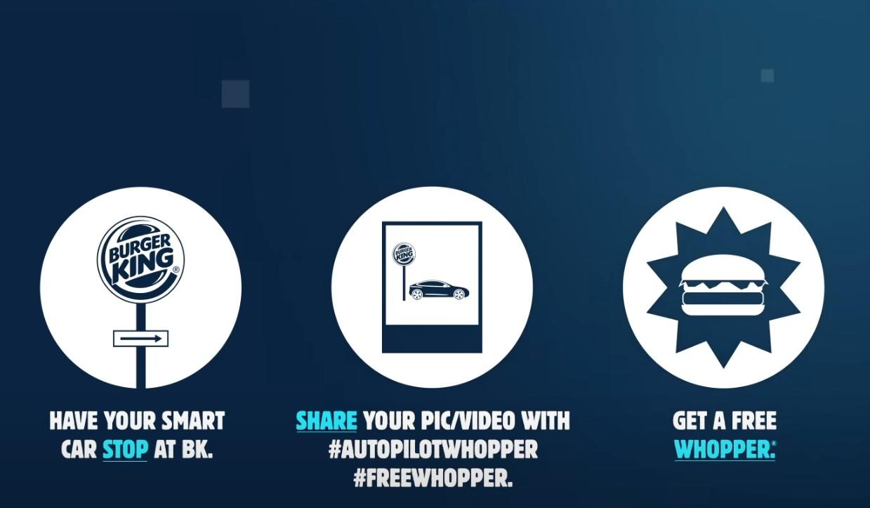 Tesla Autopilot Burger King Ad