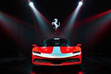 Ferrari llena el libro de reservas del Ferrari SF90 Spider antes de presentar el coche