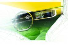 El interior del nuevo Opel Mokka-e muestra un aspecto vanguardista y tecnológico