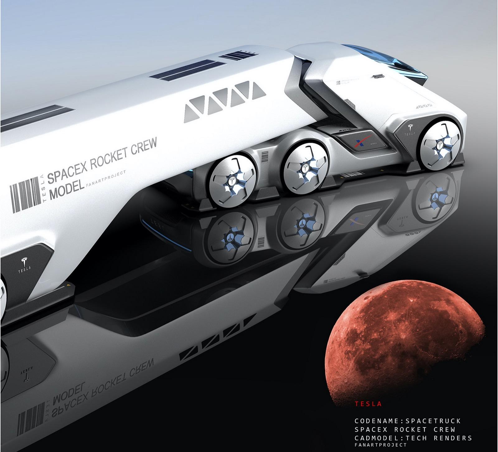 Tesla Spacetruck 11