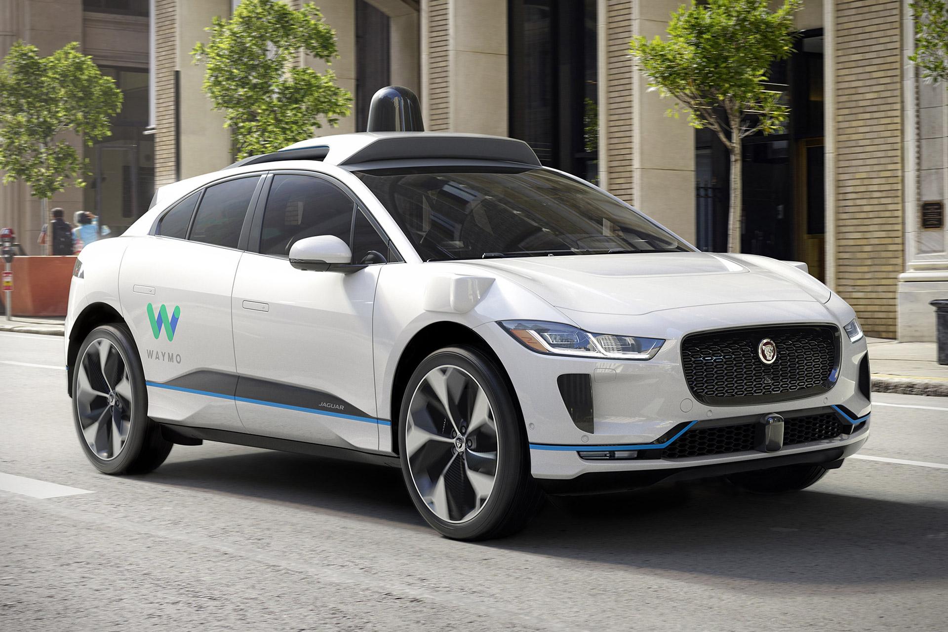 Jaguar I Pace Waymo