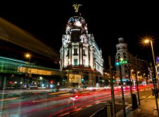 Madrid Callao Night