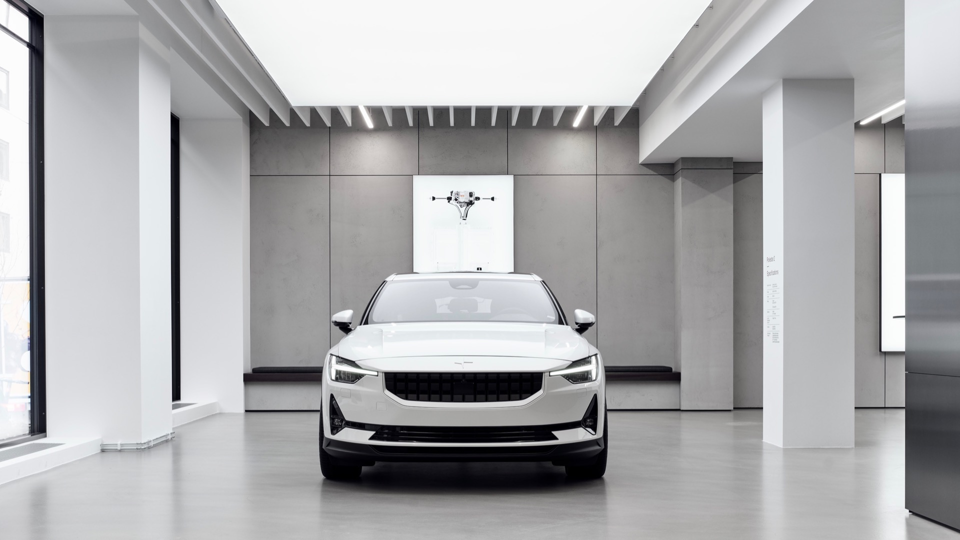 Polestar Space Front