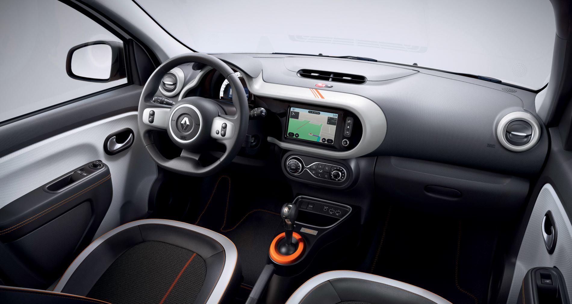 Renault Twingo Ze Interior