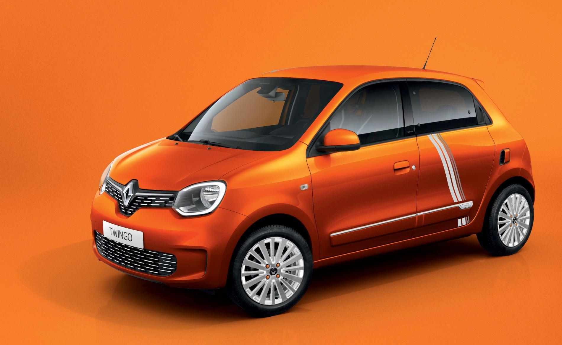 Renault Twingo Ze Orange