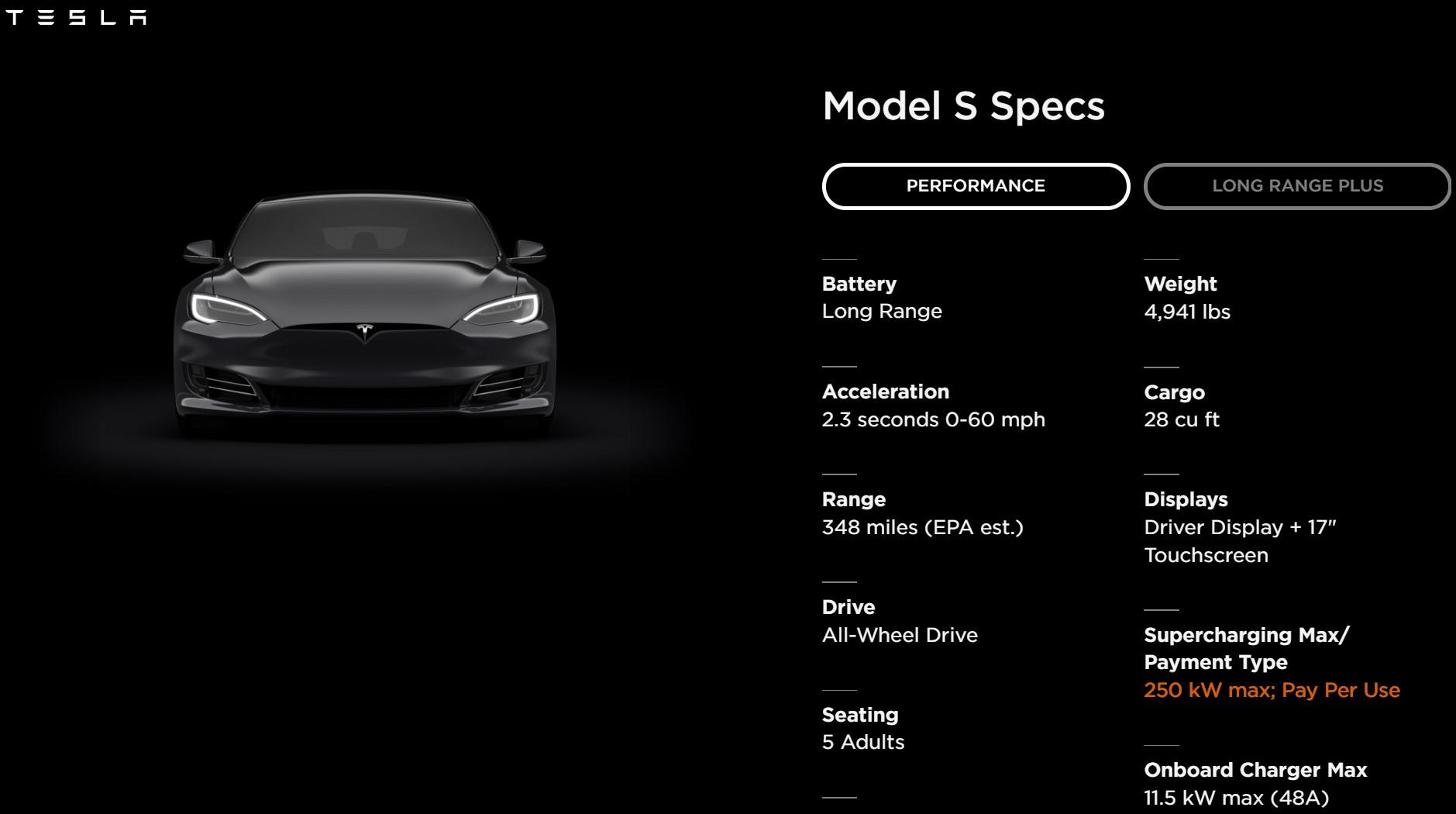 Tesla Model S 250 Kw Charge