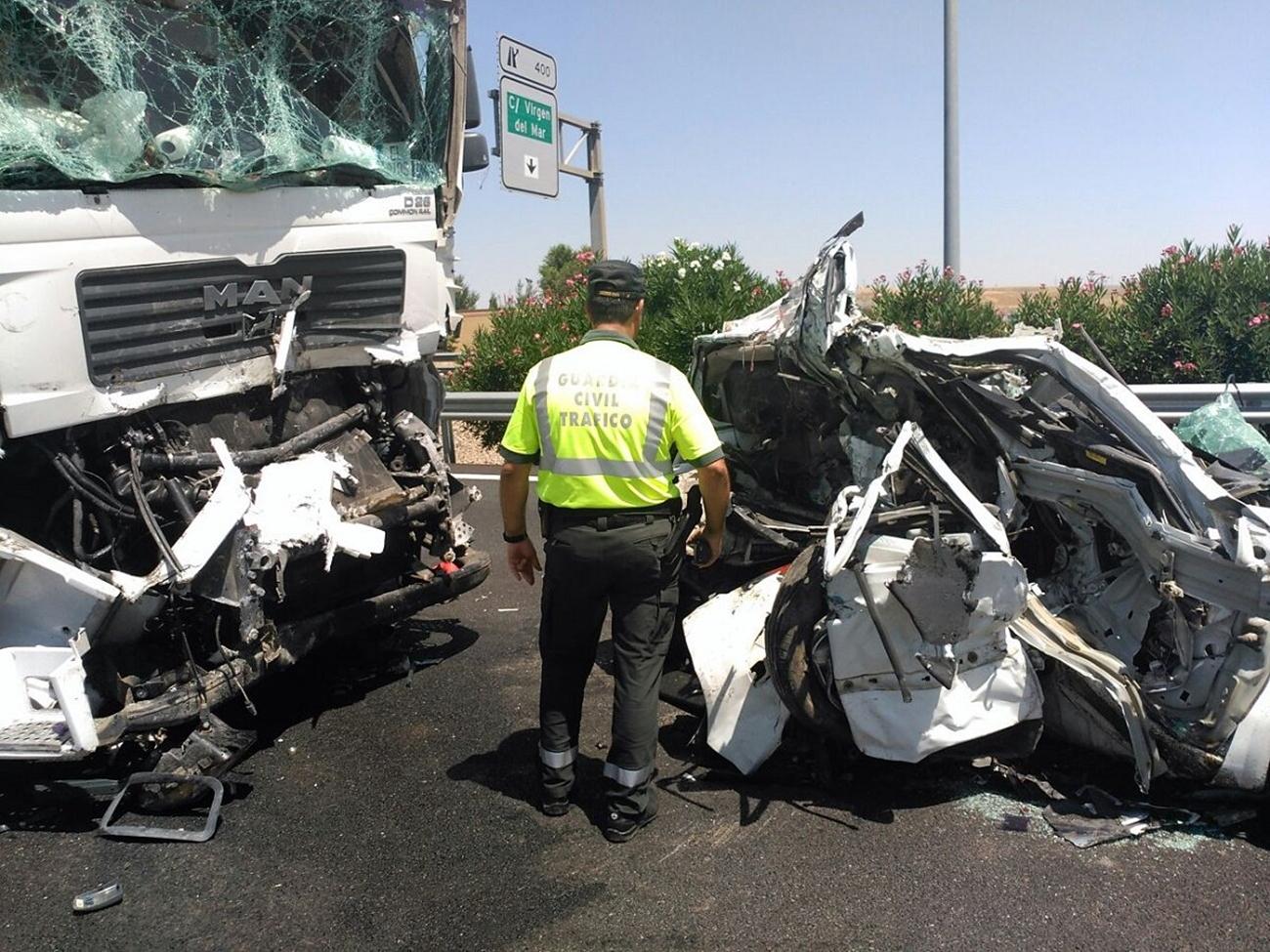 Accidente Trafico Guardia Civil