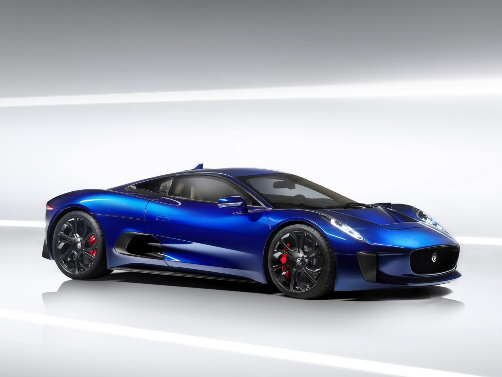 Jaguar C X75 Hybrid Prototype 1