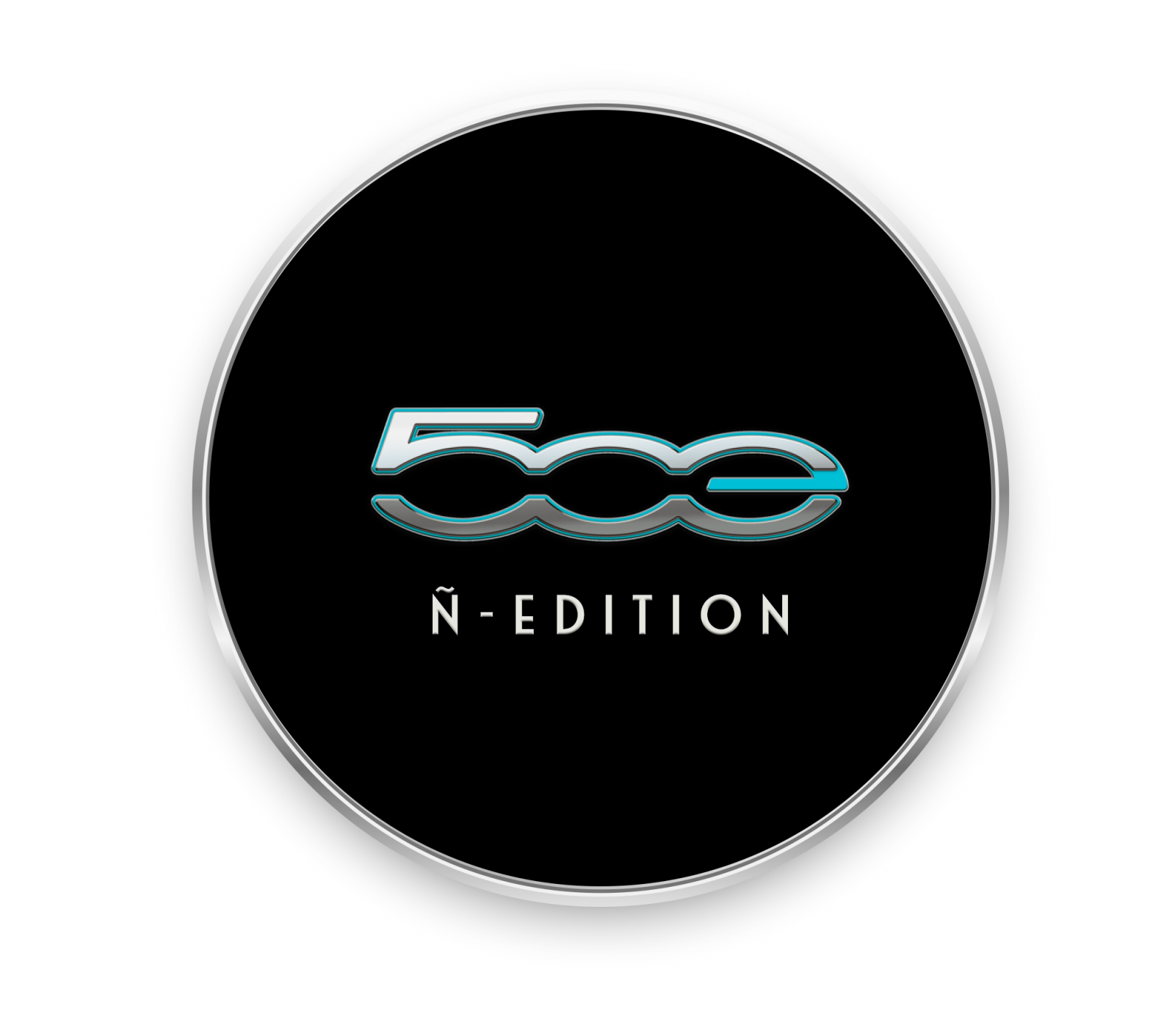 Logo Fiat 500 Electrico ñ Edition