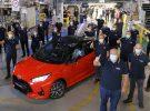 Los Toyota Yaris Hybrid de nueva generación ya han sido fabricados