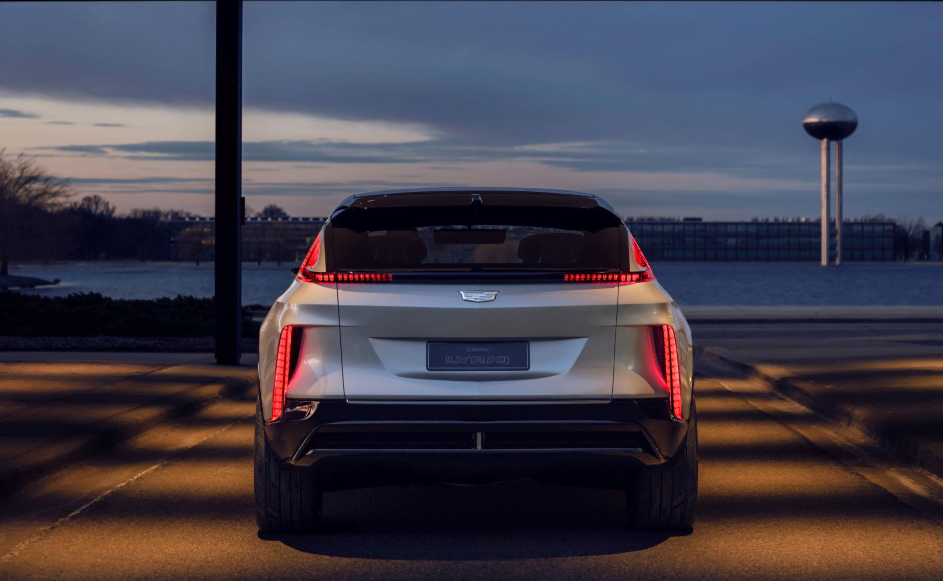 Cadillac Lyriq Back