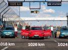 Tres Hyundai Kona eléctricos recorren más de 1.000 km con una sola recarga