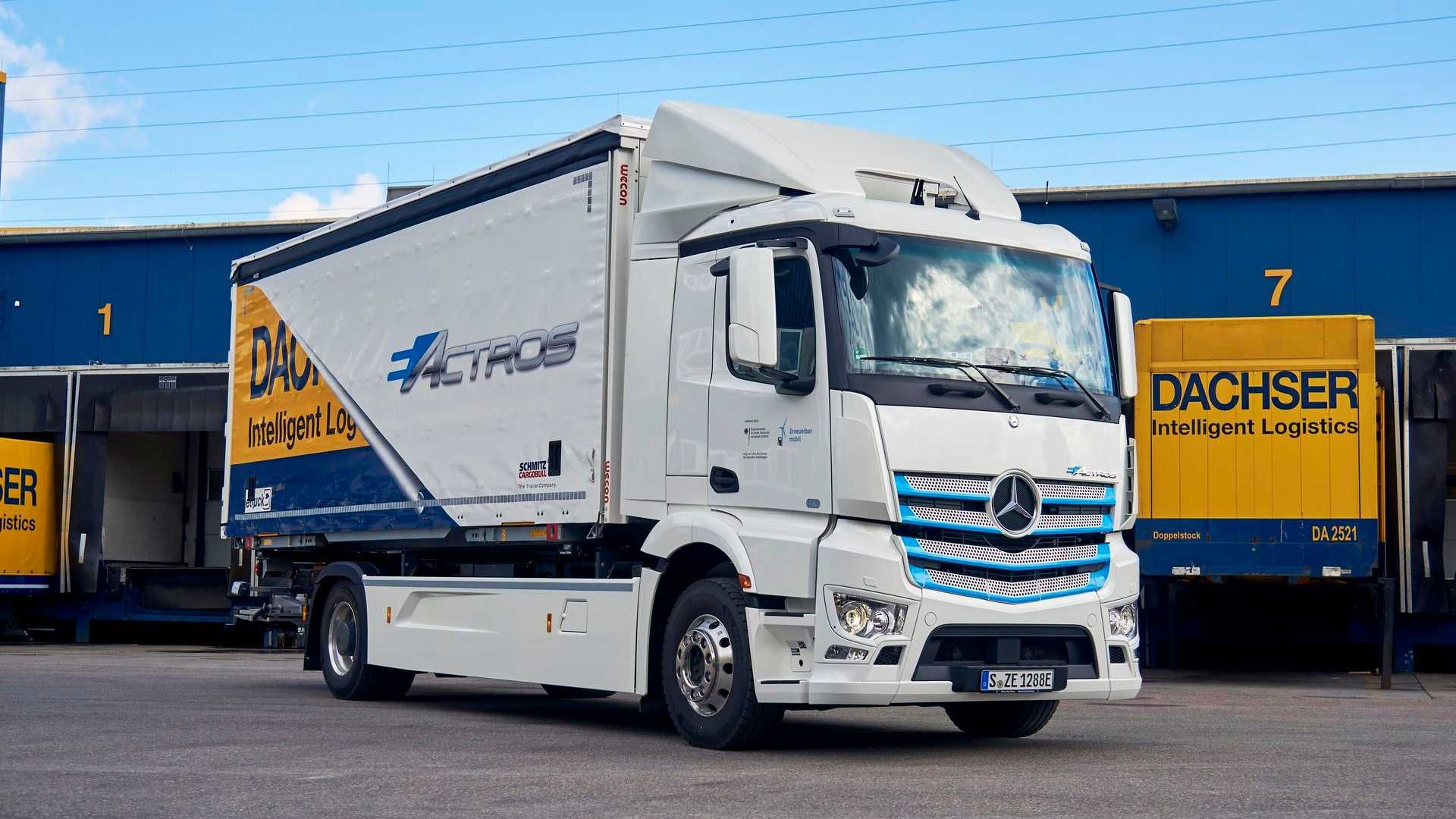 Mercedes Benz Eactros Logistics