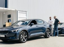 Polestar 2 Delivery Germany Side