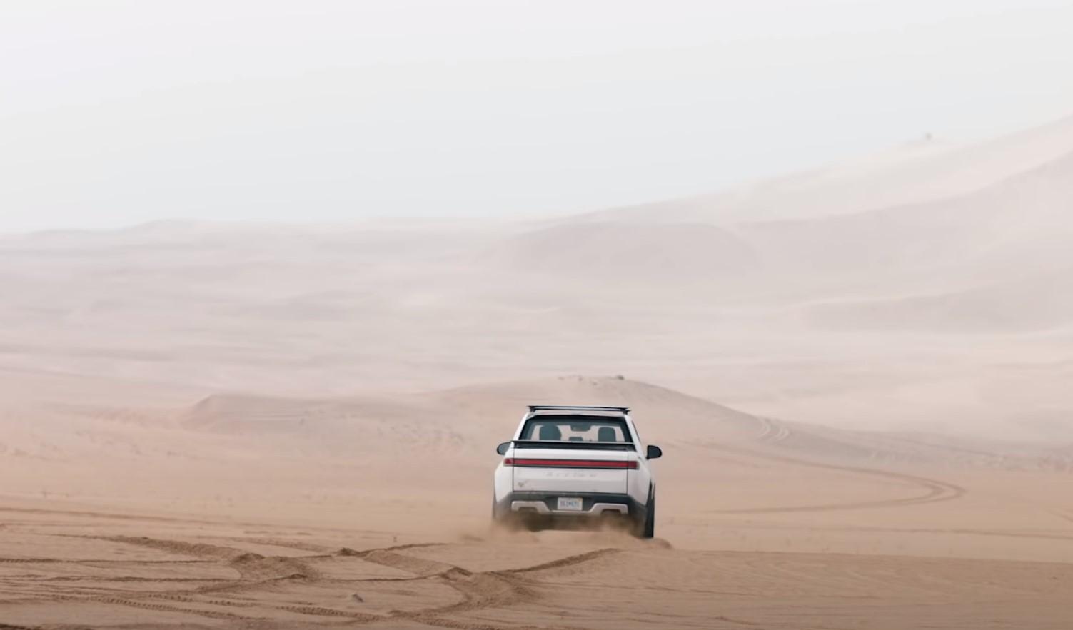 Rivian Long Way Up Desert