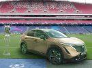 El Nissan Ariya hace su debut en Europa a lo grande