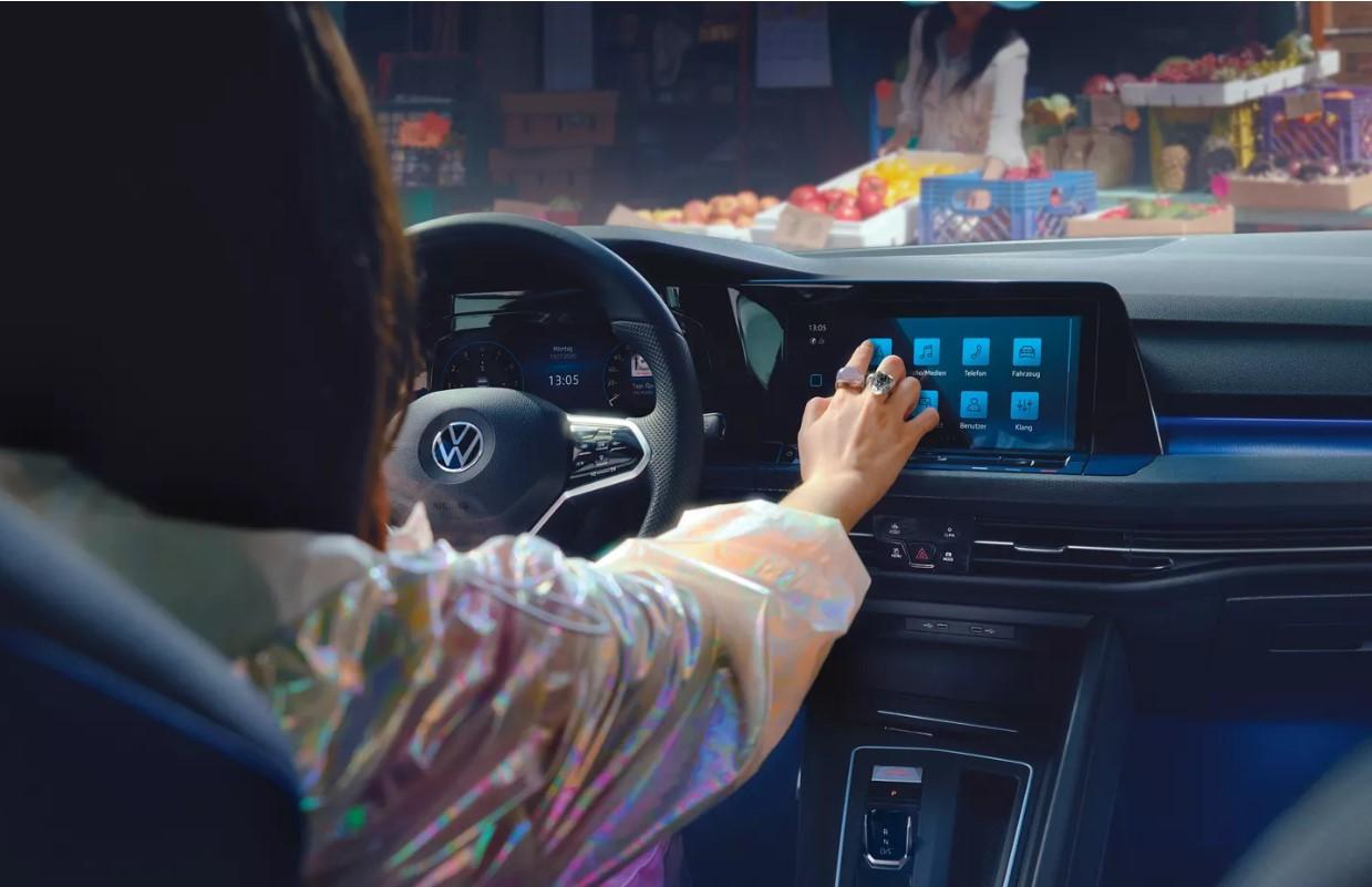 Volkswagen Golf 8 Gte Interior