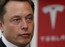 Tesla Motors Inc Chief Executive Elon Musk Pauses During A News Conference In Tokyo