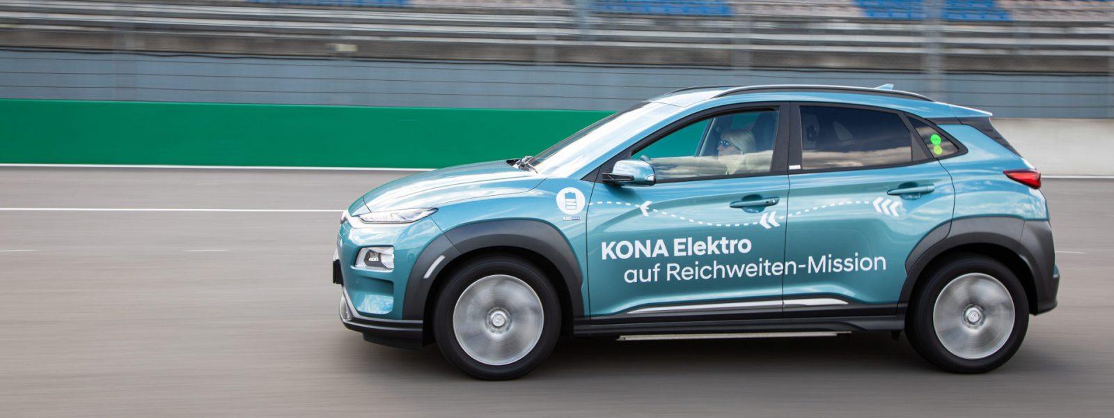 Hyundai Kona Electric Range Record 01 E2e